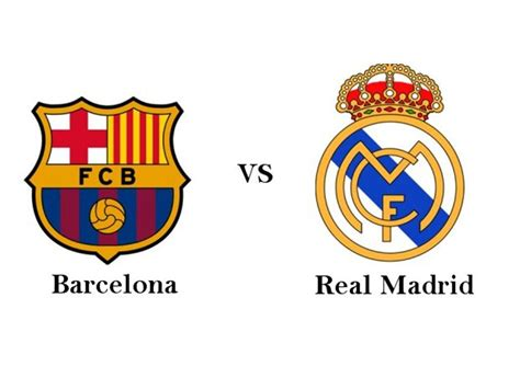 imagenes real madrid y barcelona el barcelona vs real madrid un duelo muy igualado en