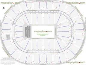 Arena Floor Plans Smoothie King Center Arena General Admission Ga Floor