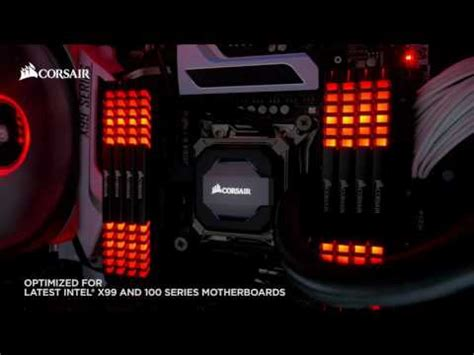 ddr4 ram with led lights corsair lights it up with vengeance ddr4 ram with led