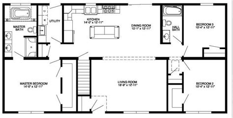 floor plans for basements awesome 4 bedroom house plans with walkout basement new home plans design