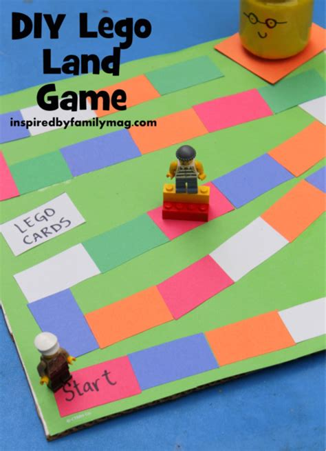 diy games diy lego game inspired by family
