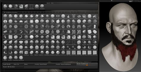 zbrush subtool tutorial creating facial hair with fibermesh by gavin goulden
