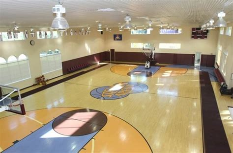 mansions with basketball courts for sale