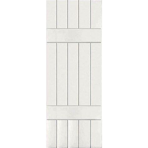 Home Depot Wood Shutters Interior Homebasics Plantation Faux Wood White Interior Shutter Price Varies By Size Qspa3148 The