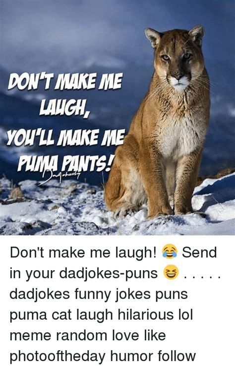 Make Me Laugh Meme - 25 best memes about joke pun joke pun memes