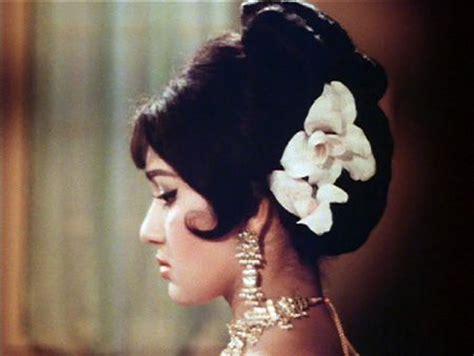 60s Tamil Heroins Hairstyle   exotic 60s tiki polynesian style bollywood bride