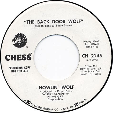 Back Door Howlin Wolf by Howlin Wolf The Arhoolie Foundation