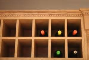 how to make a wine rack in a kitchen cabinet how to make a wine rack for a small cabinet 6 steps ehow