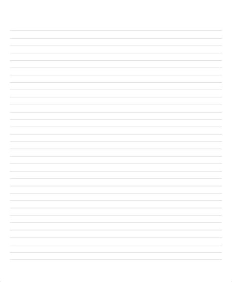 lined paper word psd documents