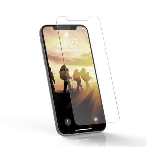 glass screen shield iphone xr by uag high quality tempered glass armor gear