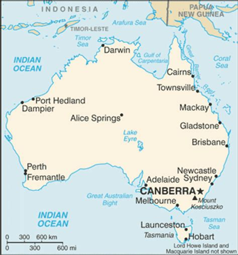 australia map with countries and capitals australia country flag map capital city population