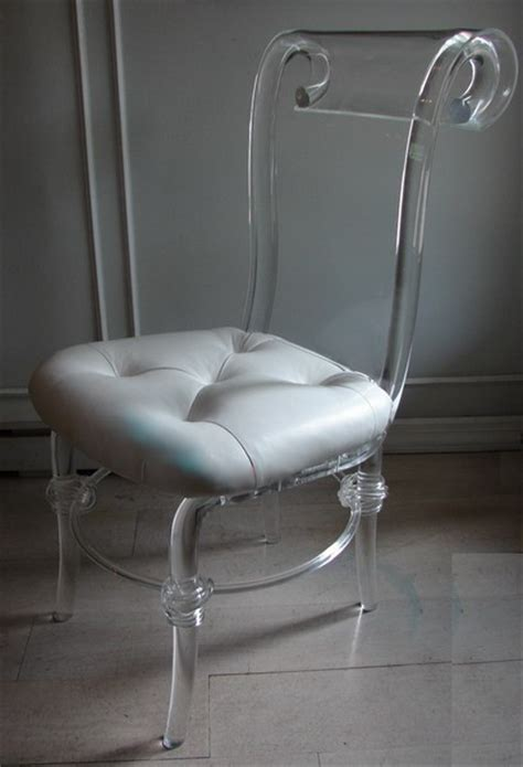 clear plastic vanity chair cheap lucite furniture caribbean living