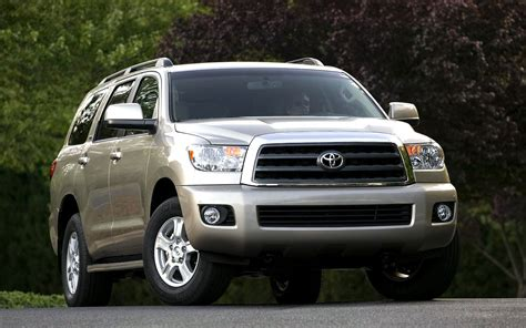 toyota big cars toyota sequoia full size suv sequoia wallpapers and