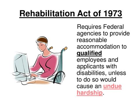 section 501 of the rehabilitation act of 1973 ppt reasonable accommodation powerpoint presentation