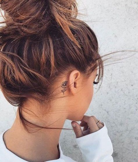 tattoo behind ear fading best 25 rose tattoo behind ear ideas on pinterest ear