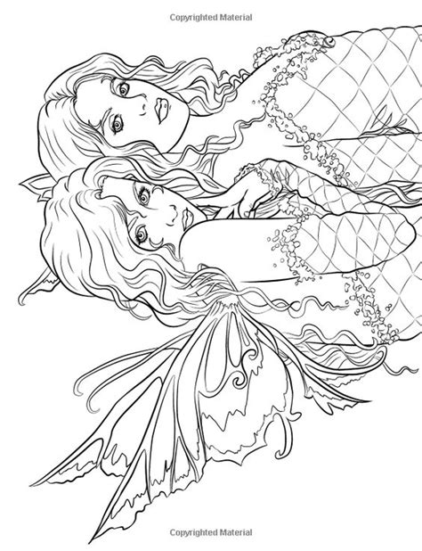 mystical elf coloring pages artist selina fenech fantasy myth mythical mystical legend