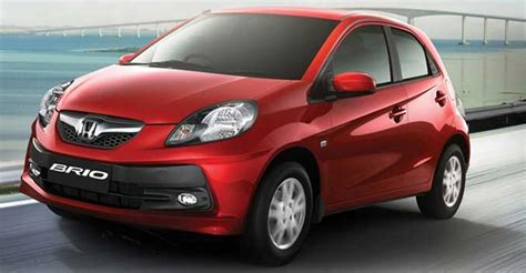 honda brio ex showroom price a complete list of cars under 5 lakhs in india