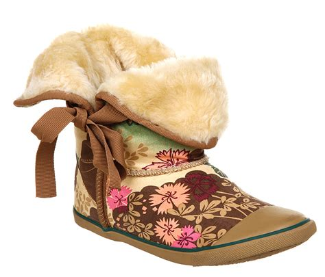 Sugar Boots Origami - womens sugar origami fur boot asian flora boots ebay