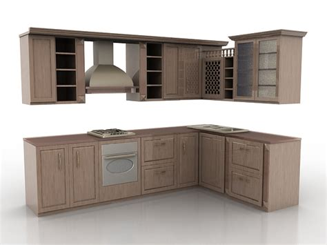 3d kitchen design free download vintage rustic kitchen design 3d model 3ds max files free