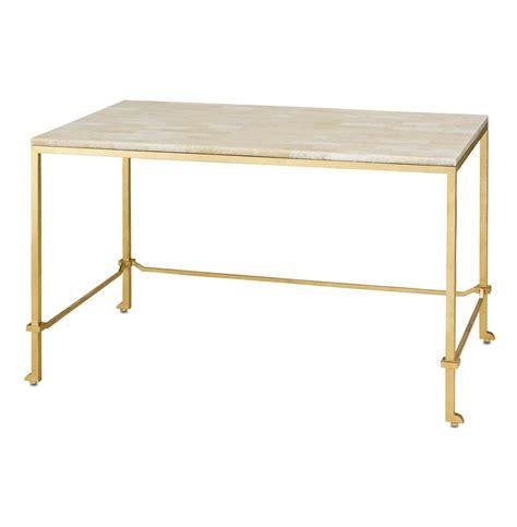 Gold Writing Desk classic gold leaf frame regency writing desk