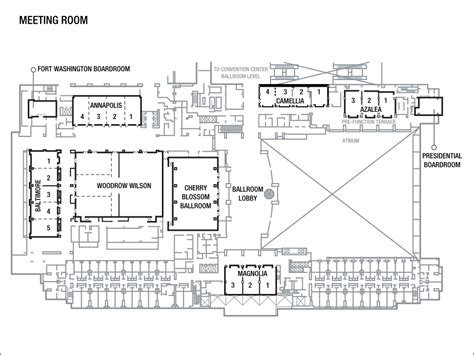 baltimore convention center floor plan business meeting venue in national harbor at the gaylord