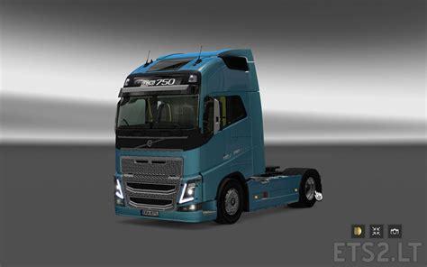 truck volvo 2013 volvo fh 2013 reworked ets 2 mods