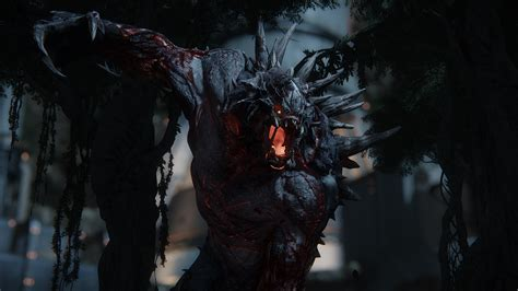 A Place What Are The Monsters Designing Evolve S Terrifying Monsters The Verge