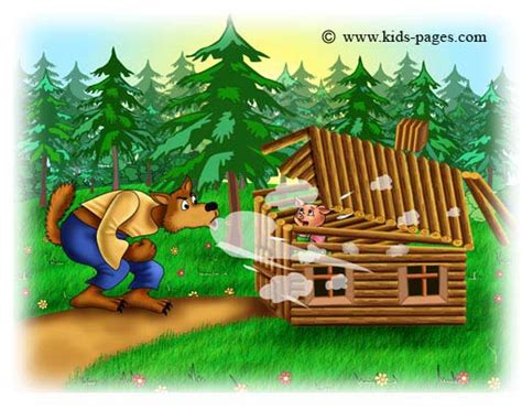 The Three Little Pigs: You Chose to Rebuild Your Wooden