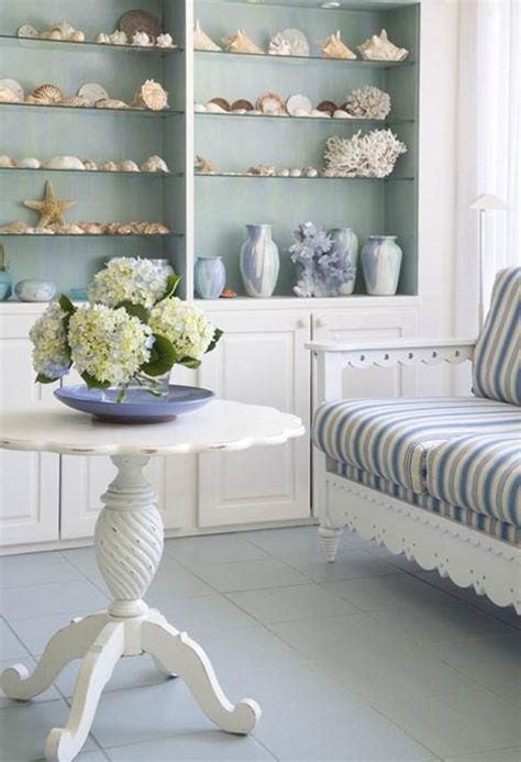 themed home decor bring the shore into home with style living room