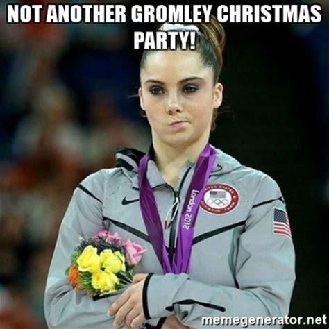 Mckayla Meme - not another gromley christmas party mckayla maroney not