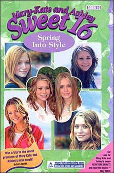 spring into style mary kate and ashley sweet 16 series