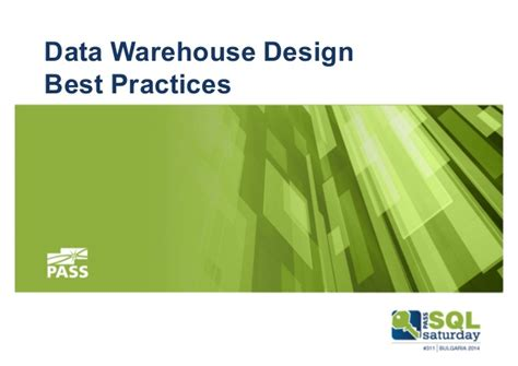 typography best practices data warehouse design and best practices