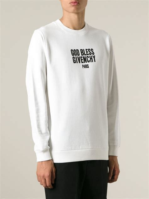 Vgod Provoke Clothing Jaket Jumper Hoodie lyst givenchy god bless sweatshirt in white for