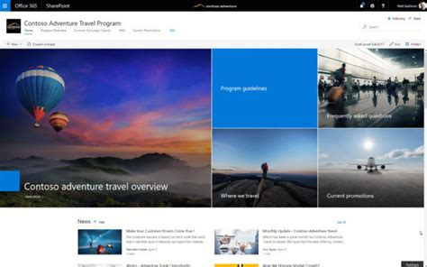 tips   started  sharepoint communication sites