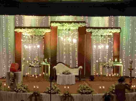 16.1.2019. Christian Wedding Stage Decoration at St Louis
