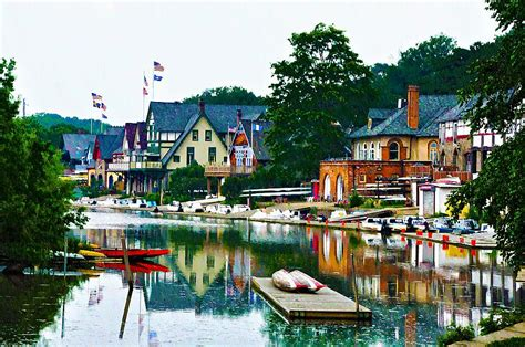 bills boat house boathouse row in philly by bill cannon