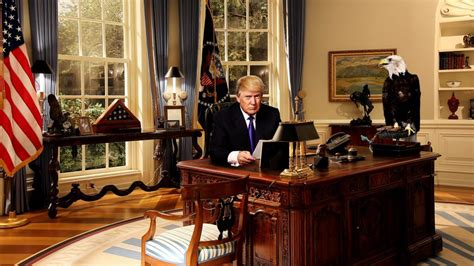 donald s oval office president donald s two week rundown to quot make america safe again quot yc news