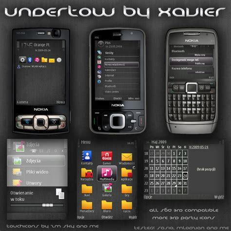 telecharger theme nokia e71 gratuit undertow symbian theme by xavier themes on deviantart