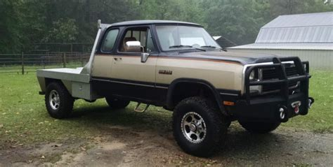 dodge other extended cab 1992 gold for sale