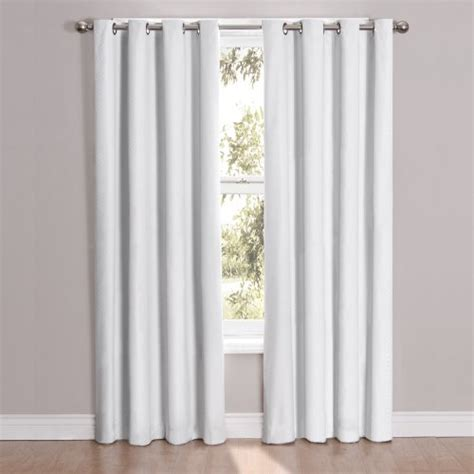 84 inch curtain panels eclipse cassidy blackout grommet window curtain panel 84