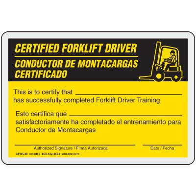 certification cards template free forklift license template on free forklift