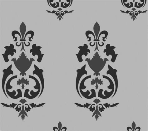 retro wall stencils patterns and tips from 7 reader vintage wall paint colors