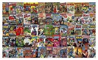 Wide Chair Rail - instant comic book wallpaper 187 fanboy com