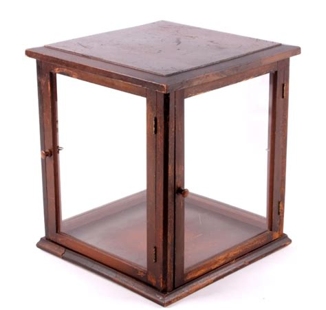 table top display cases
