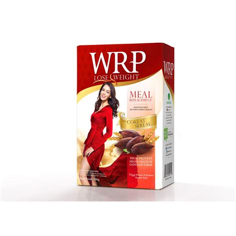 Teh Pelangsing Wrp wrp lose weight meal replacement elevenia