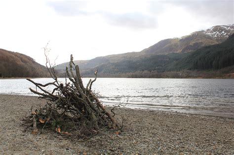 Loch Lubnaig Cabins by Highland Road Trip And A Hike Up Beinn Ghlas Scotland