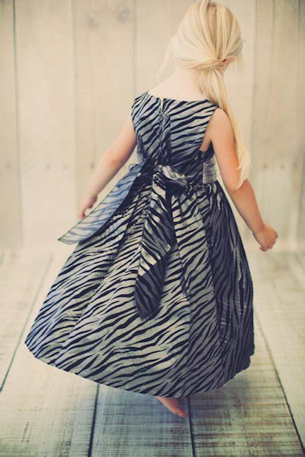 Dress Flocking by Zebra Pattern Velvet Flocking Taffeta Dress Modishonline