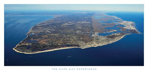 Cape May Aerial Print