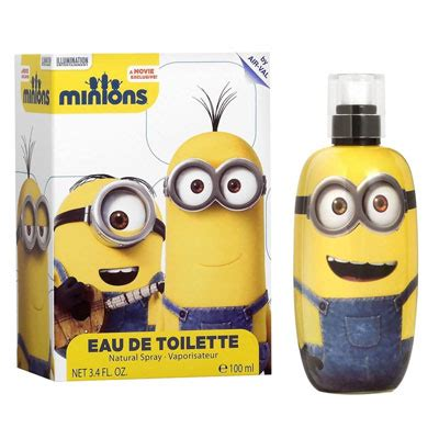 Airval International Minions Pouch Gift Set kid minions cologne by air val international perfume emporium fragrance