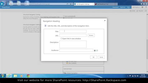 sharepoint 2013 top navigation bar how to edit the top link navigation bar in sharepoint 2013